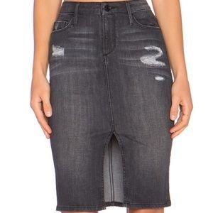 Black Orchid the Pencil Denim Jean Skirt Size 29